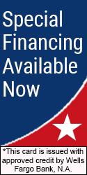 Special Financing Now Available