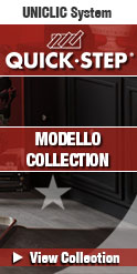 quick-step modello laminate floors