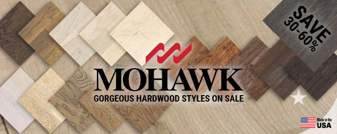 Mohawk Hardwood flooring at the lowest prices.