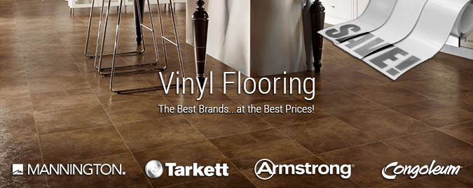 The best brands in luxury vinyl at the best prices.