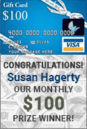ACWG 100 dollar gift card winner susan hagerty