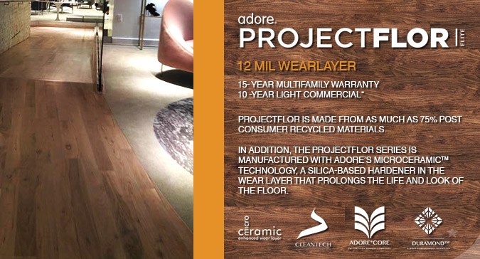 ADORE PROJECTFLOR ELITE LUXURY VINYL FLOORING