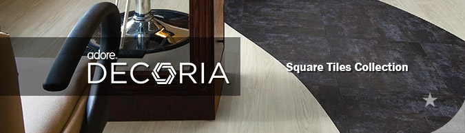 Adore Decoria Square Tiles collection luxury vinyl flooring sale