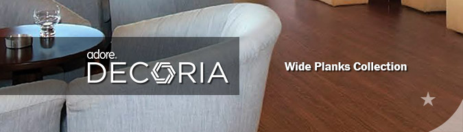 Adore Decoria Wide Planks collection luxury vinyl flooring sale