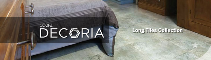 Adore Decoria Long Tiles collection luxury vinyl flooring sale