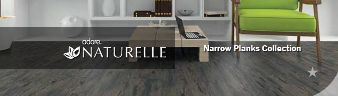 Adore Naturelle Narrow planks Collection luxury vinyl flooring on sale at American Carpet Wholesale