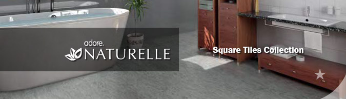 Adore Naturelle Square Tiles Collection luxury vinyl flooring on sale at American Carpet Wholesale