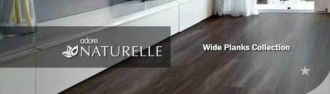 Adore Naturelle Wide Planks Collection luxury vinyl flooring on sale at American Carpet Wholesale