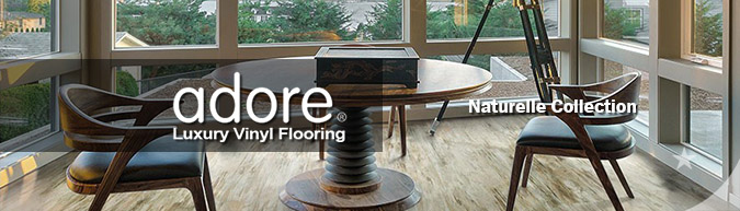 Adore Naturelle Collection luxury vinyl flooring on sale at American Carpet Wholesale