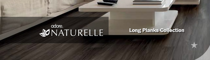 Adore Naturelle long planks Collection luxury vinyl flooring on sale at American Carpet Wholesale