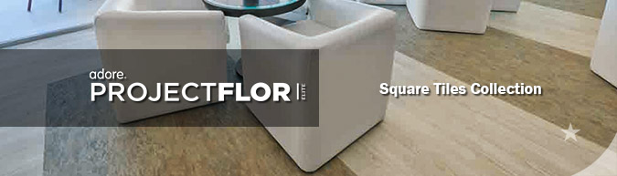 Adore Project flor Elite Square Tile Collection luxury vinyl flooring on sale at American Carpet Wholesale