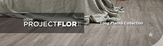 Adore Project flor Elite long planks Collection luxury vinyl flooring on sale at American Carpet Wholesale