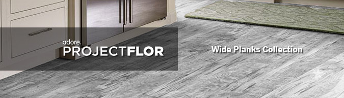 Adore Project flor Wide Planks Collection luxury vinyl flooring on sale at American Carpet Wholesale