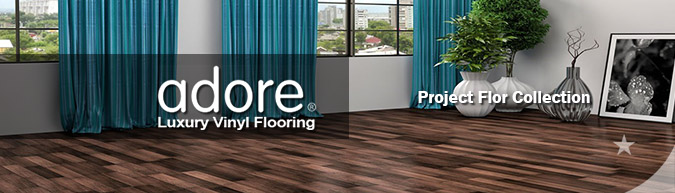 Adore Project flor Collection luxury vinyl flooring on sale at American Carpet Wholesale