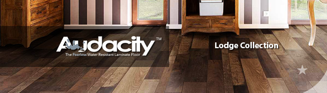 Armstrong Audacity Laminate Flooring Classic Lodge collection