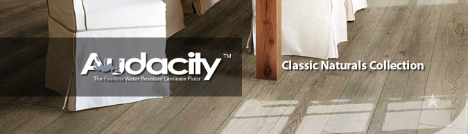Armstrong Audacity Laminate Flooring Classic Naturals collection