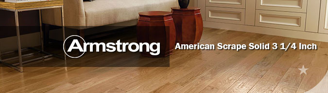 Armstrong hardwood flooring american scrape 3 1/4 hardwood collection on sale at American Carpet Wholesale with huge savings!