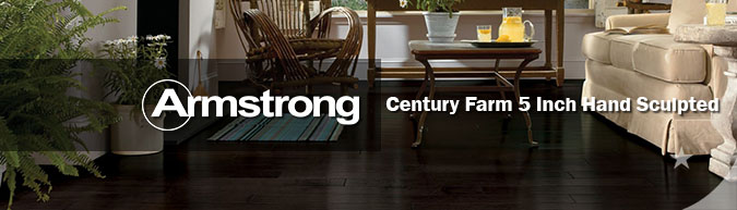 Armstrong Century Farm 5 Inch Hand Sculpted Hardwood flooring collection on sale at American Carpet Wholesale with huge savings!