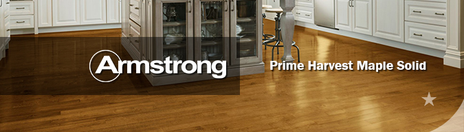 Armstrong hardwood flooring Prime Harvest Maple Solid hardwood collection on sale at American Carpet Wholesale with huge savings!