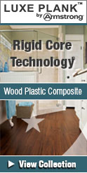 Armstrong luxe plank wood plastic composite rigid core collections
