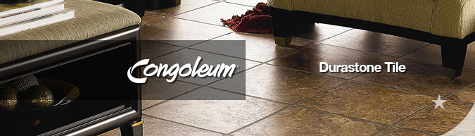 Congoleum DuraStone luxury vinyl flooring on sale at American Carpet Wholesale with huge savings! Save 30 to 60%