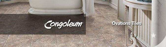 Congoleum Ovations Luxury Vinyl Floor Tiles - Save 30-60%