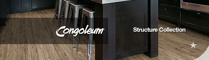 Congoleum structure luxury vinyl flooring collection on sale at American Carpet Wholesale with huge savings! Save 30 to 60%