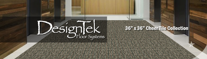 cheer tile 36-inch carpet tile modular flooring products by DesignTek on sale