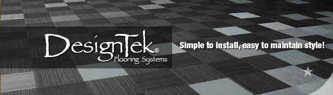carpet tile modular flooring products by DesignTek  on sale