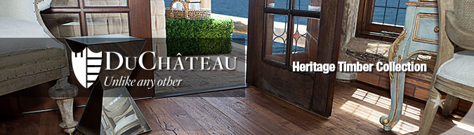 DuChateau Hertiage Timber Collection Premium hard-wax oil finished hardwood flooring collection