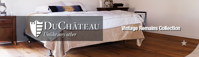 DuChateau Vintage Remains Collection Premium hard-wax oil finished hardwood flooring collection