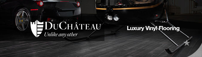 DuChateau luxury vinyl flooring collection on sale at American Carpet Wholesale with huge savings! Save 30 to 60%