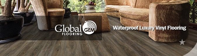 Global Gem waterproof luxury vinyl flooring collection