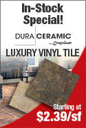 Congoleum DuraCeramic Luxury Vinyl Tile Lowest Prices. In Stock For Immediate Installation or Shipping!