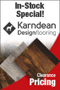 IN-STOCK SPECIAL KARNDEAN VINYL FLOORING CLEARANCE PRICES