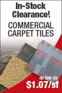 IN-STOCK SPECIAL PHILADELPHIA COMMERCIAL CARPET TILE