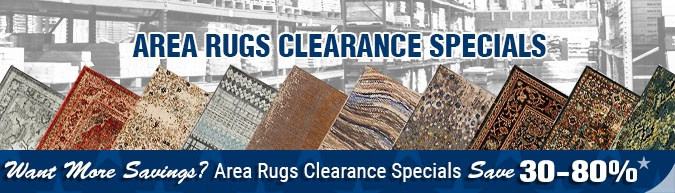 In-stock special Area Rugs inventory sell off - close out-sale clearance items, discontinued items, limited time, limited supply, flooring sale