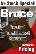 IN STOCK SPECIAL brucehardwoodbrushed tumbleweed FLOORING.JPG