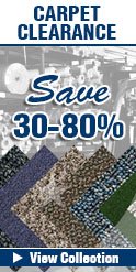 In-stock special carpet clearance sale