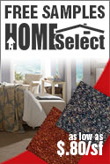 homeselect carpet rolls free samples