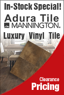 In stock special mannington luxury vinyl flooring