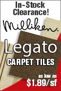 In stock special milliken legato modular carpet tile sale