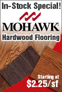 mohawk hardwood flooring in stock special