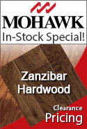 In-stock specia mohawk zanzibar Natural hardwood flooring