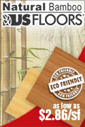In-Stock Natural Bamboo Flooring eco-friendly