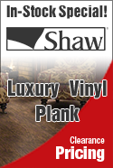In stock special shaw plank luxury vinyl plank flooring
