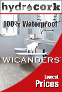 In-stock special wicanders hydrocork wpc waterproof flooring