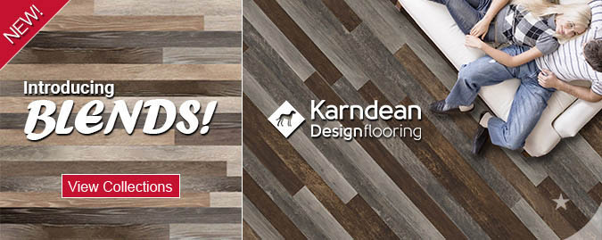 Introducing karndean Luxury vinyl plank blends - Save up to 60%
