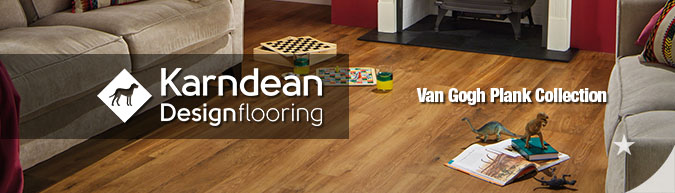 Karndean Van Gogh Plank collection Luxury Vinyl Tile Flooring on sale at American Carpet Wholesale with huge savings!