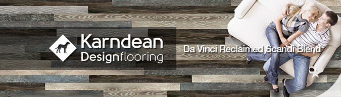 Karndean Di Vinci reclaimed scandi blend design flooring reclaimed salvage look scandinavian